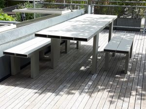 13AL table plus Bench 160cm