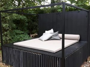 Day-Bed with Custom LOFDESIGN outdoor cushions